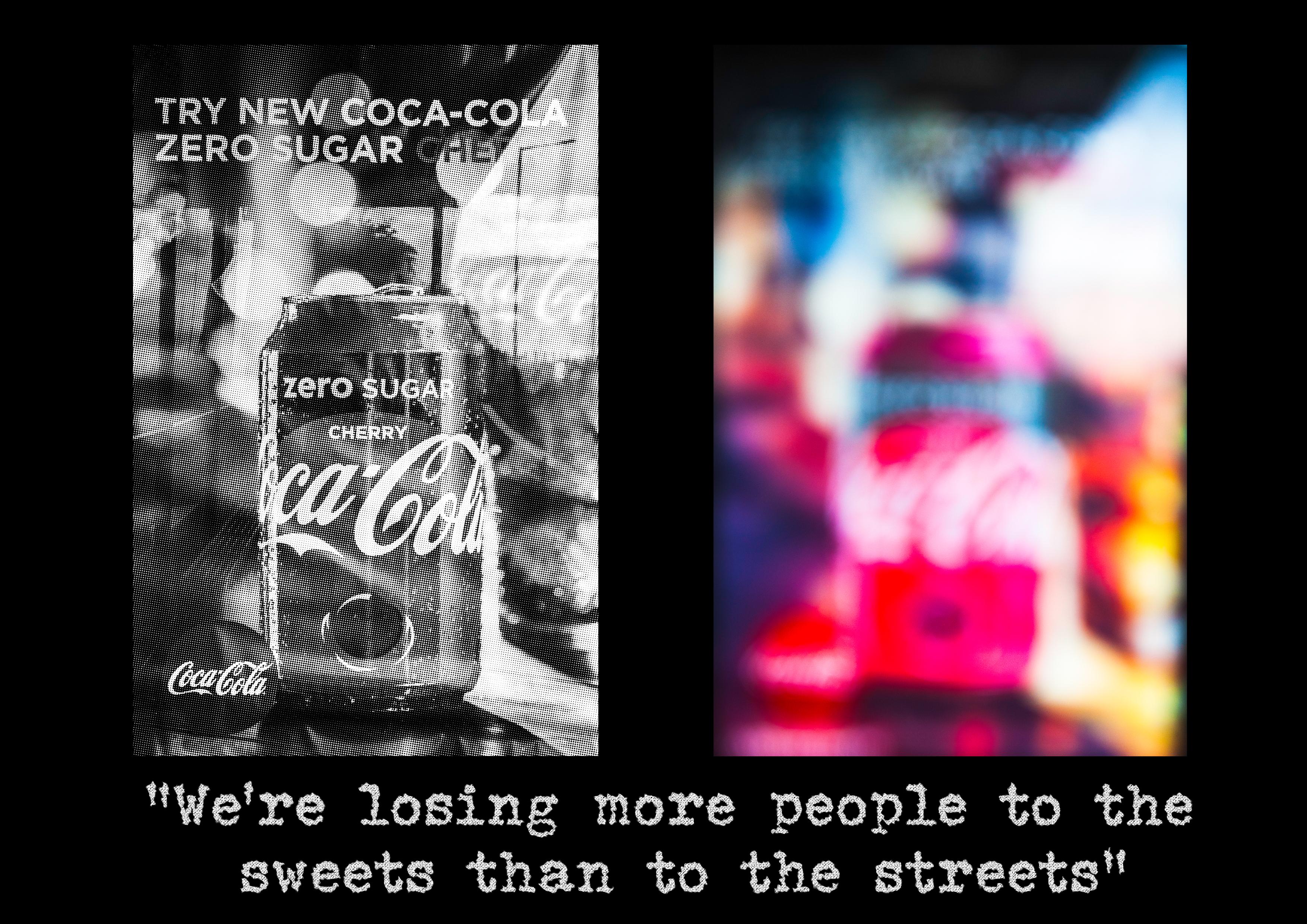 coke diptych
