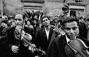 CZECHOSLOVAKIA. Straznice. 1966. Festival of gypsy music.