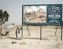 Goldblatt - George Nkomo, hawker, Fourways, Johannesburg, 2002
