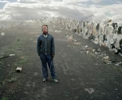 Mikhael Subotzky - Samuel (Standing), Vaalkoppies (Beaufort West Rubbish Dump), 2006