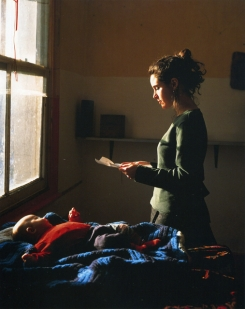 Hunter - woman reading a possession order